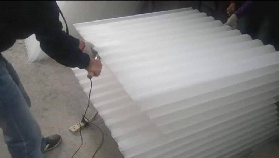 蜂窝斜管焊接