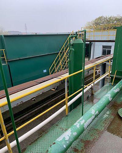 河水净水设备现场安装