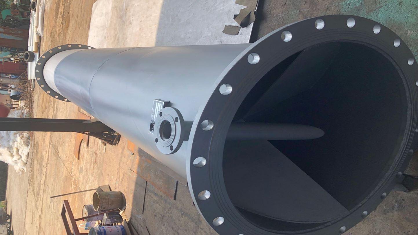 华杰环保生产的不锈钢管道混合器