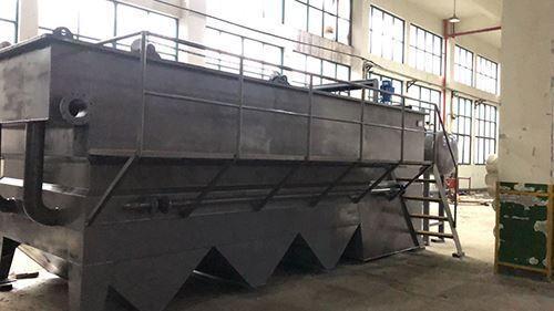 华杰环保生产的不锈钢气浮机