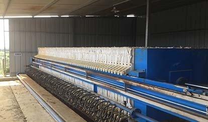 污水处理站压滤机