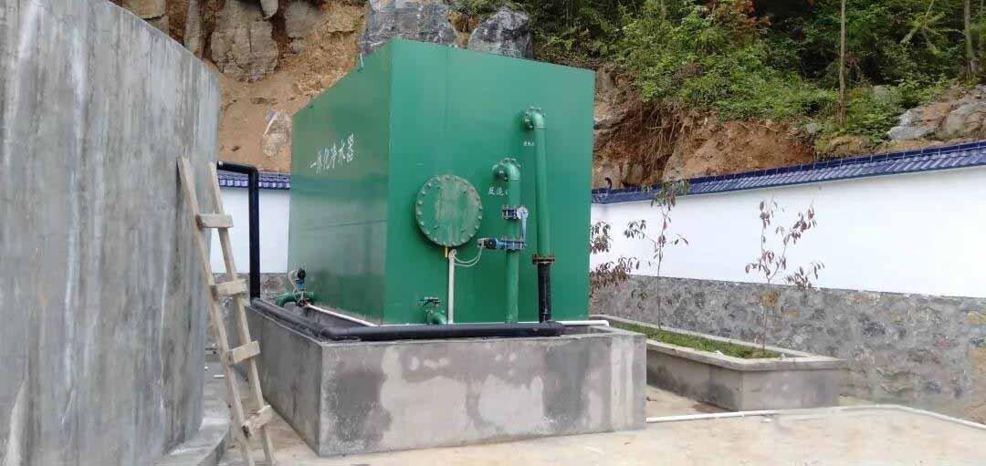 一体化净水器设备现场图