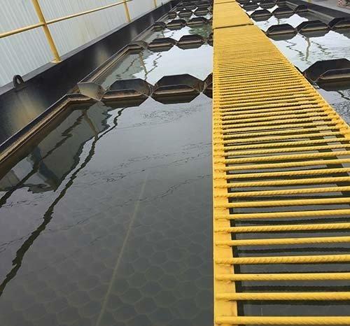 斜管沉淀池出水效果图