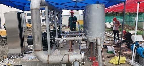 【真空引水罐】启动离心泵前为什么要引水灌泵